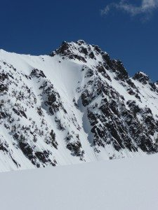 Couloir on Beehive West Face