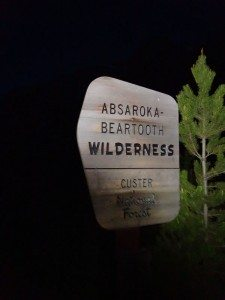 Absaroka- Beartooth Wilderness at 4am
