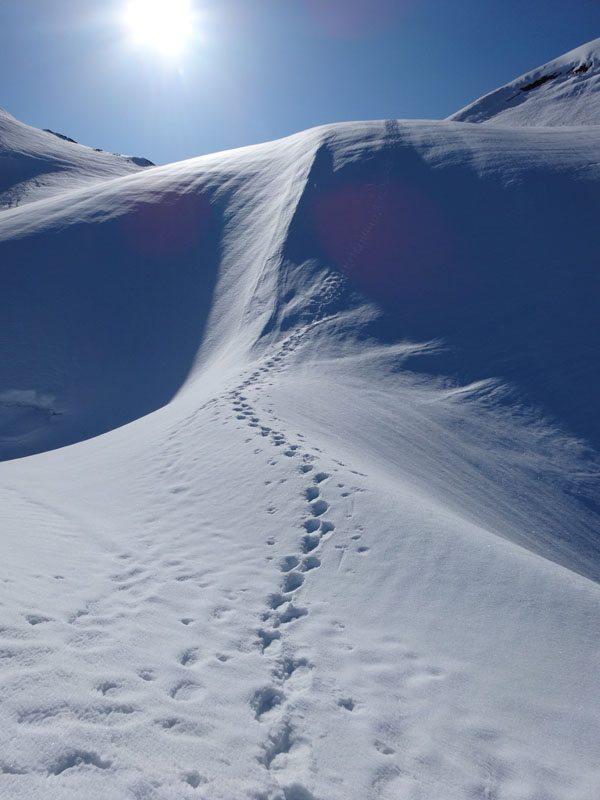 Skiing Quien Sabe Glacier On Sahale Mountain A Mountain