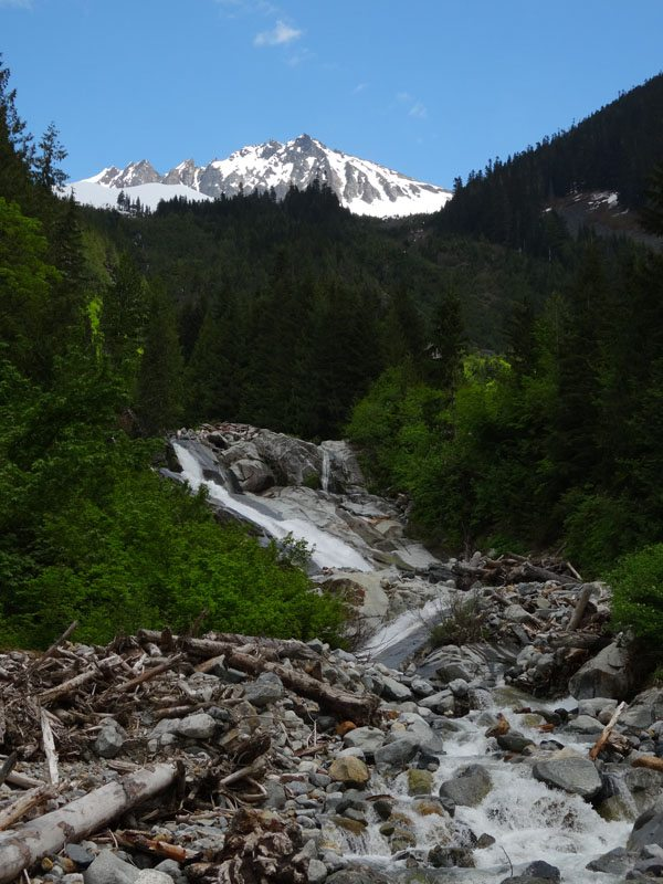 Sahale Mountain from the Cascade River Road