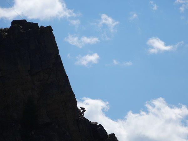 Climbers On Skyline