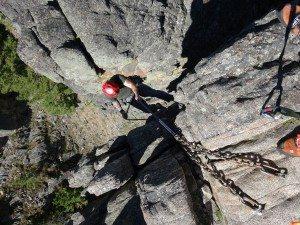 1st Rappel Gallatin Canyon