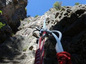 2nd Rappel Gallatin Tower