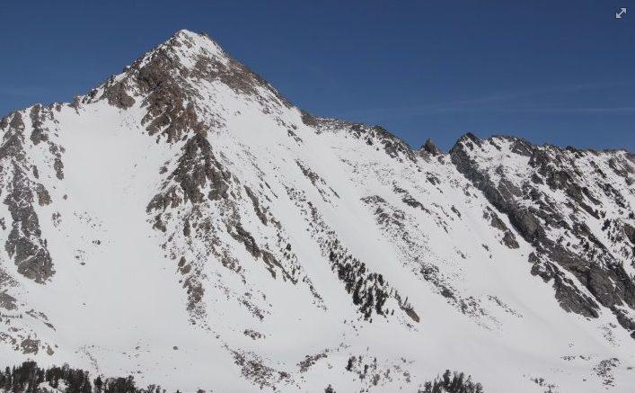 SE Face of Gallatin Peak