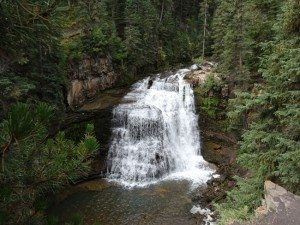 Ousel Falls Viewing Area