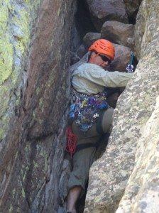 In the Chimney on Pitch 2