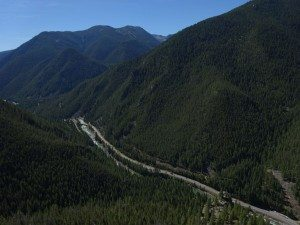 35 MPH Bridge and The Gallatin Canyon