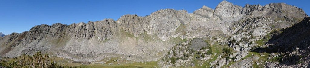The East Wall of Beehive Basin