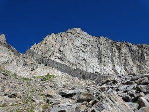 Beehive Peak Closeup