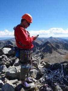 Cell Phone Service at 10742'
