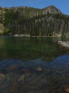 Crystal Clear Mountain Water