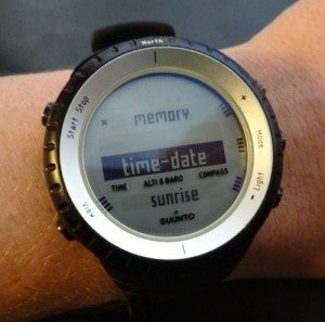 Suunto Core Menu