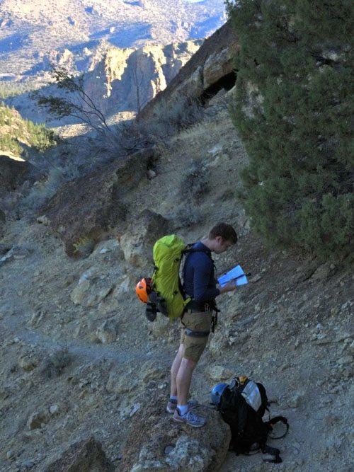 smith rock climbing guide book