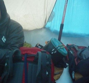 Black Diamond Beta LIght Tent on Shuksan
