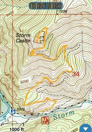 Storm Castle Route