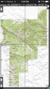 Maps of the Madison Range