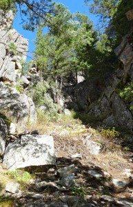 Sparerib down climb