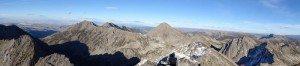 Madison range - Gallatin Peak