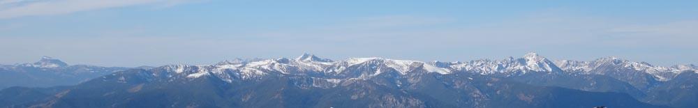 The Spanish Peaks