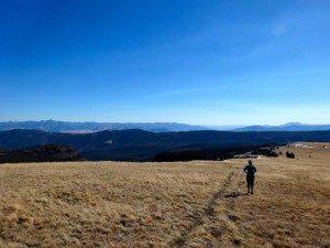 Gallatin Range and Paradise Valey