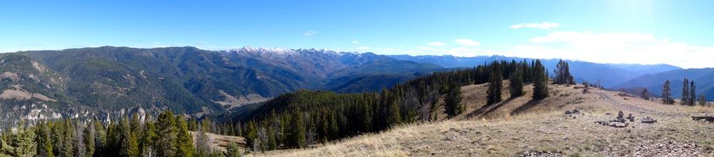 Garnet Mountain in the Gallatin Range, MT