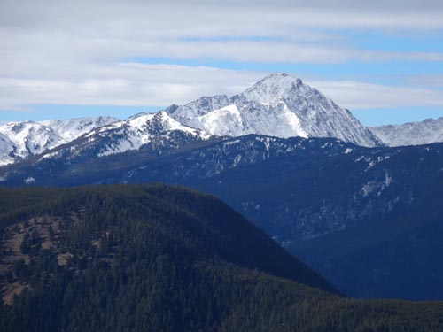 Gallatin Peak, Spanish Peaks