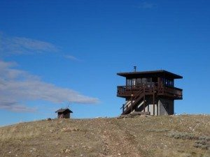 Garnet Mountain Fire Lookout Cabin