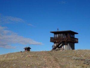 Garnet Mountain Fire Lookout Cabin
