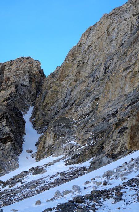 Skiing The Nugget GTNP
