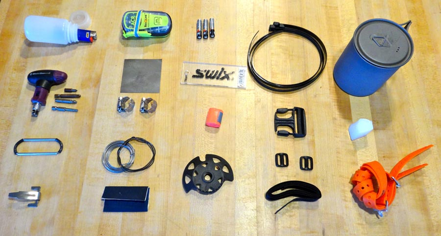 Backcountry Ski Repair Kit