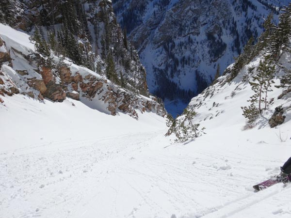 Four Hour Couloir, GTNP