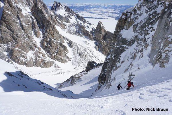 Middle Teton Glacier Route