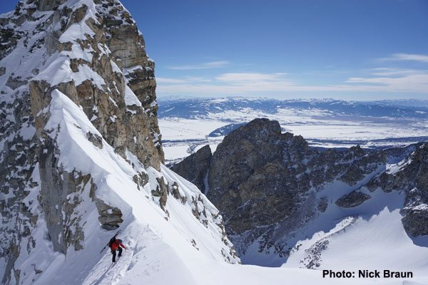 Middle Teton Glacier Route