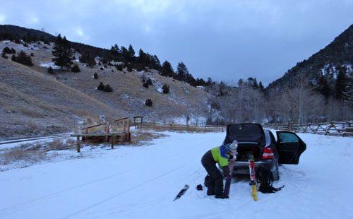 Bear Creek Trailhead, Cameron, MT