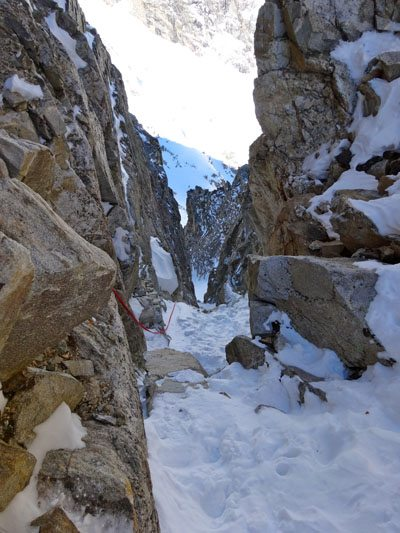 East Hourglass Couloir
