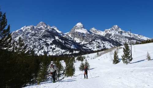 Skiing Out of GTNP