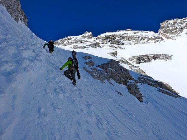 Middle Teton - Glacier Route