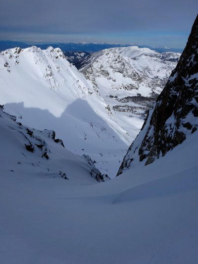 North Twin Couloir Beehive Peak