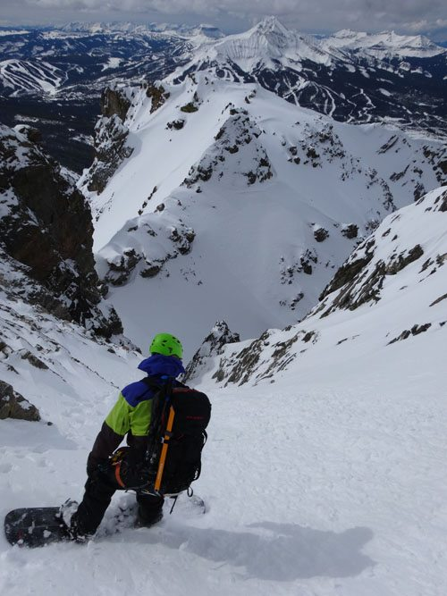 Steep Splitboarding Terrain