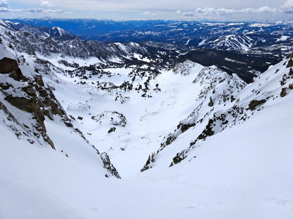 The 4th of July Couloir