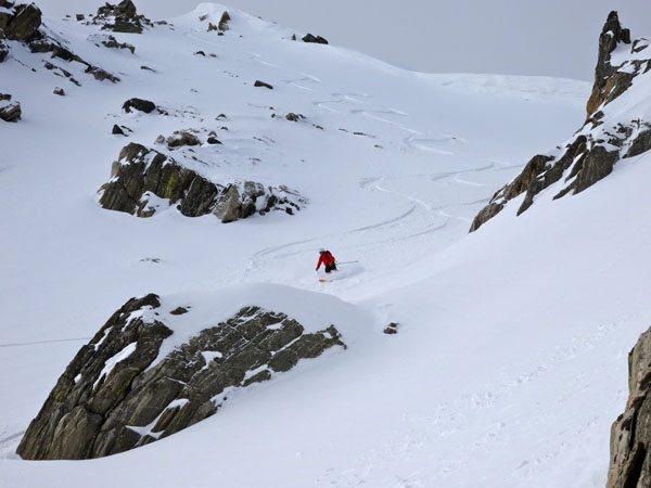 Derek Lennon Skiing