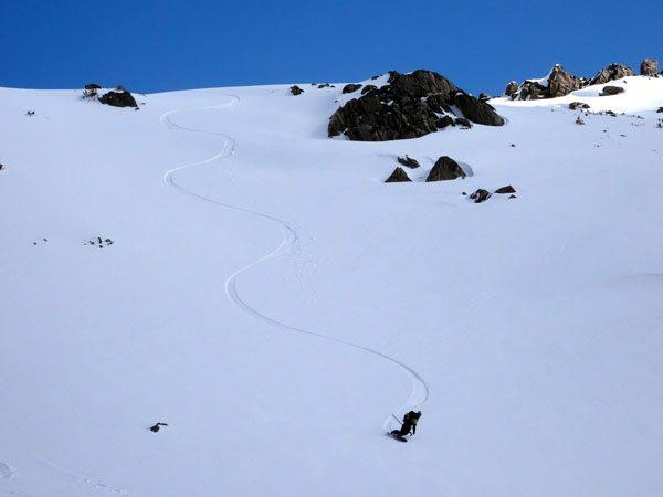 Beehive Basin ski