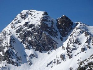 Y Couloir, Black Mountain, Absaroka-Beartooth WIlderness