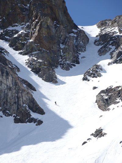 Y Couloir, Black Mountain, Absaroka-Beartooth WIlderness