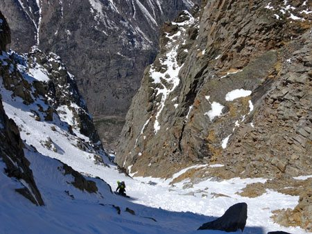 Couloir Route finding