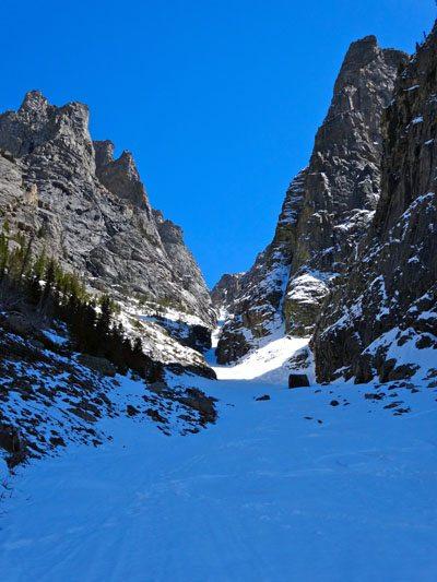 Nice ski turns