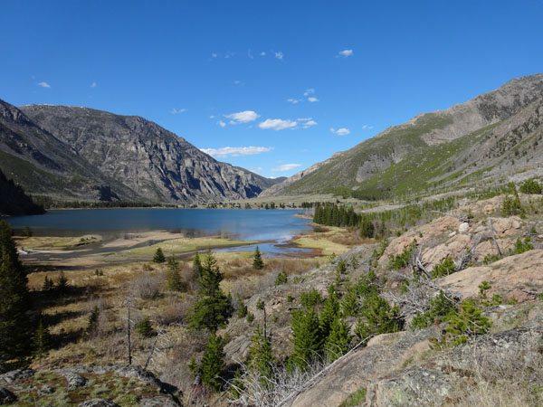 East Rosebud Lake
