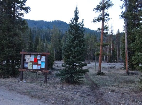 Upper Taylor Fork Trailhead