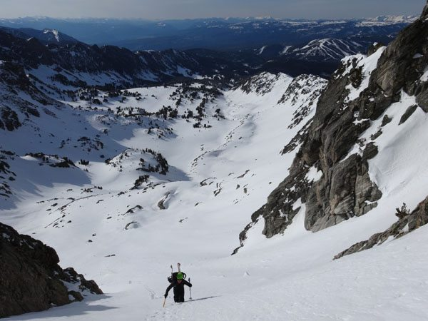 Bootpacking Up The 4th Of July Couloir