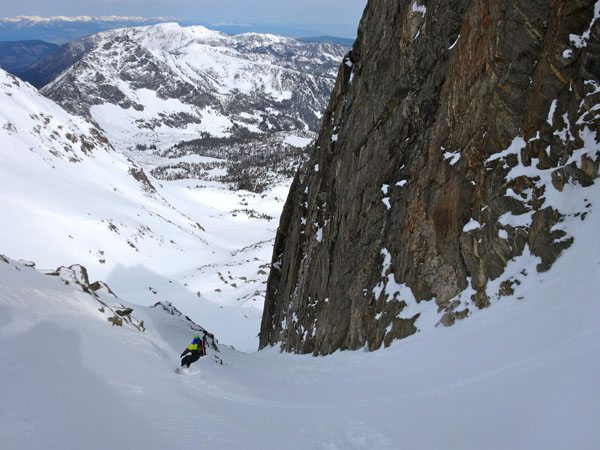 North Twin Couloir, Beehive Peak